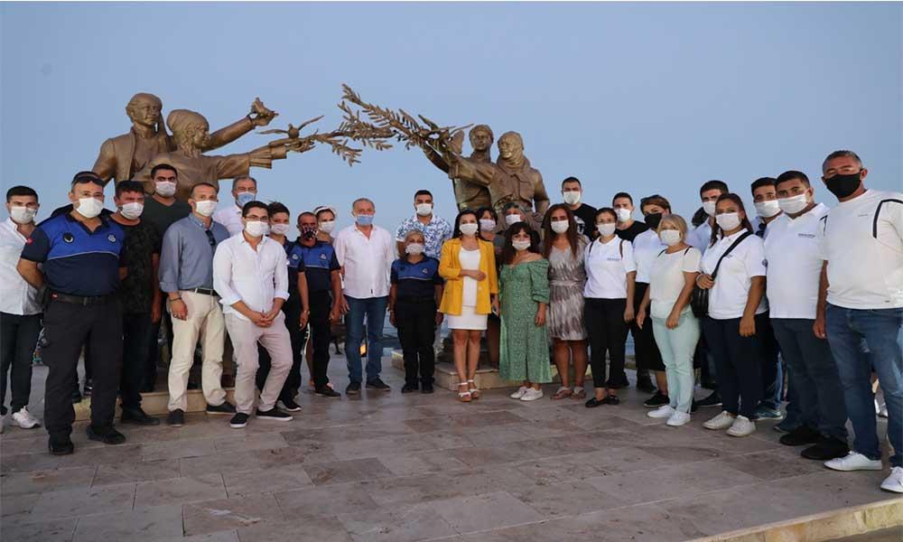 Didim'de 1 Eylül Barış Günü kutlandı