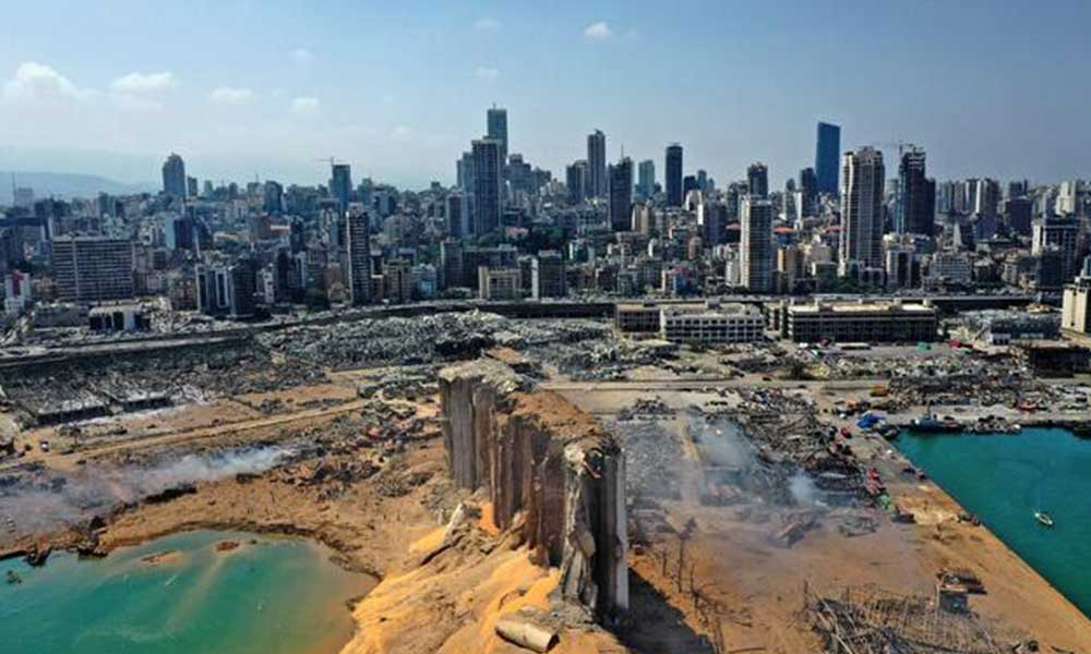 Beyrut Limanı'nda 4 tondan fazla amonyum nitrat bulundu!