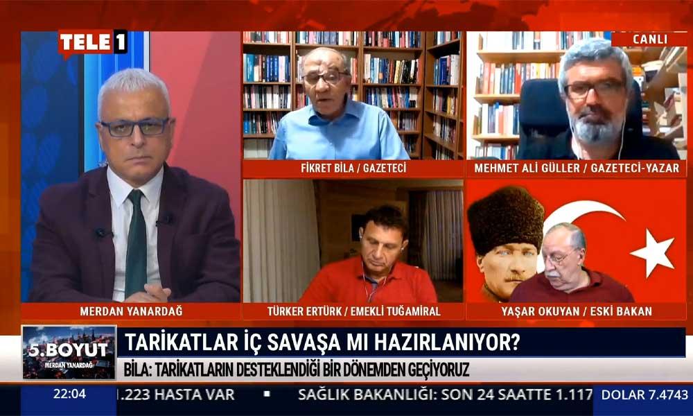Fikret Bila: Türkiye'de bir iç savaş çıkarma niyeti taşıyanlar olabilir