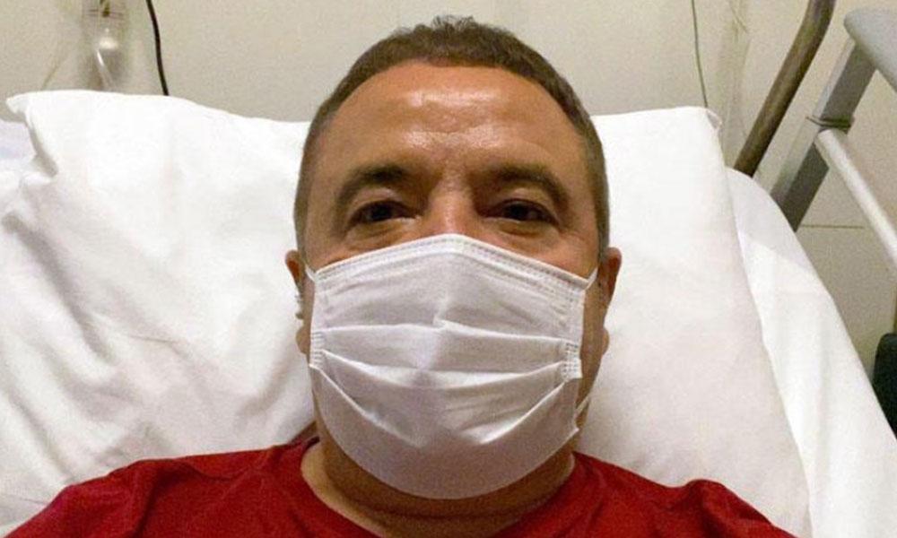 Koronavirüs tedavisi gören Muhittin Böcek Akdeniz Üniversitesi Hastanesi'ne sevk edildi
