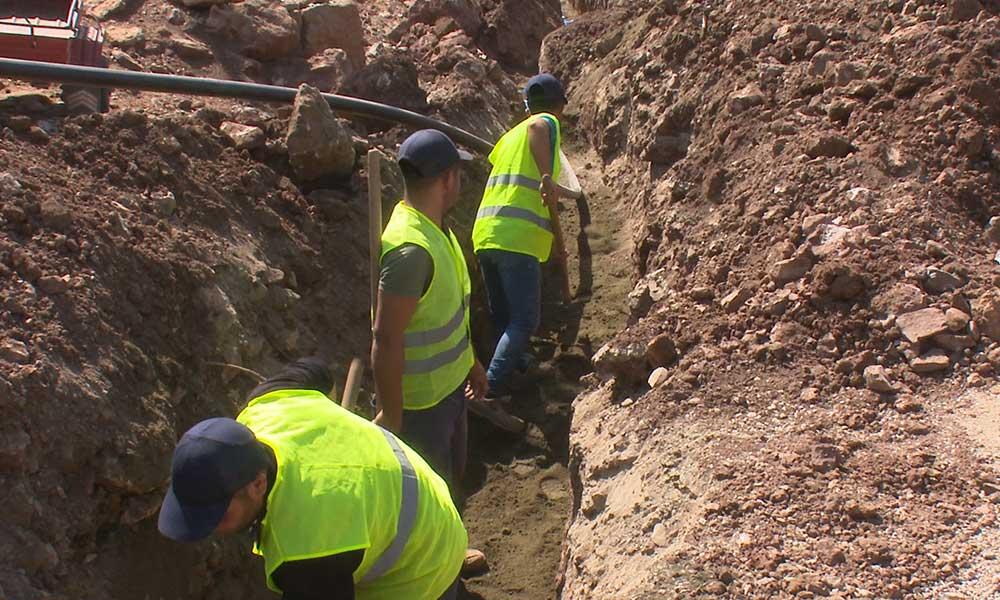 Büyükşehir Aladağ'ın içme suyu sorununa son veriyor