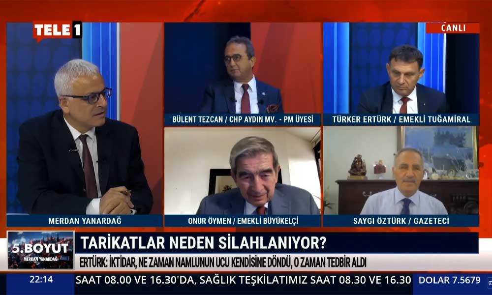 CHP'li Bülent Tezcan: İçişleri Bakanı'nın kendisi iç güvenlik sorunu haline geldi