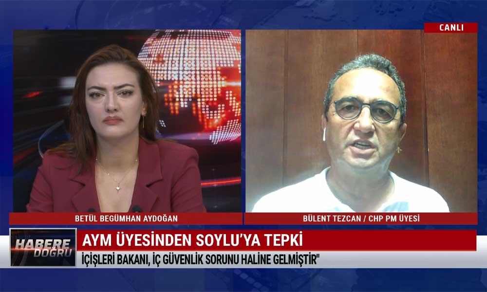 Bülent Tezcan: Süleyman Soylu, Türkiye'nin iç güvenlik sorunu haline geldi