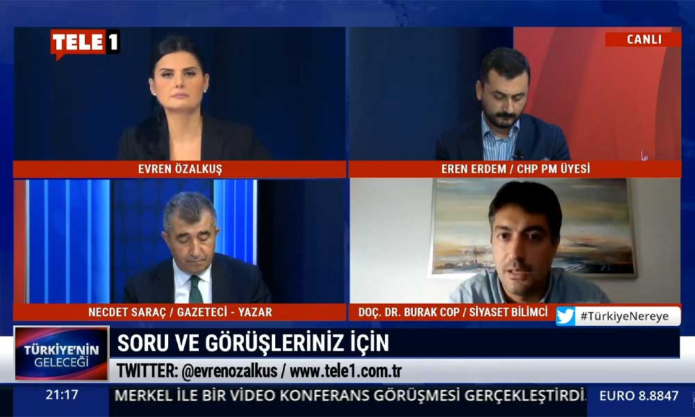 Burak Cop: Süleyman Soylu, Tansu Çiller ve Mehmet Ağar'ın devamıdır