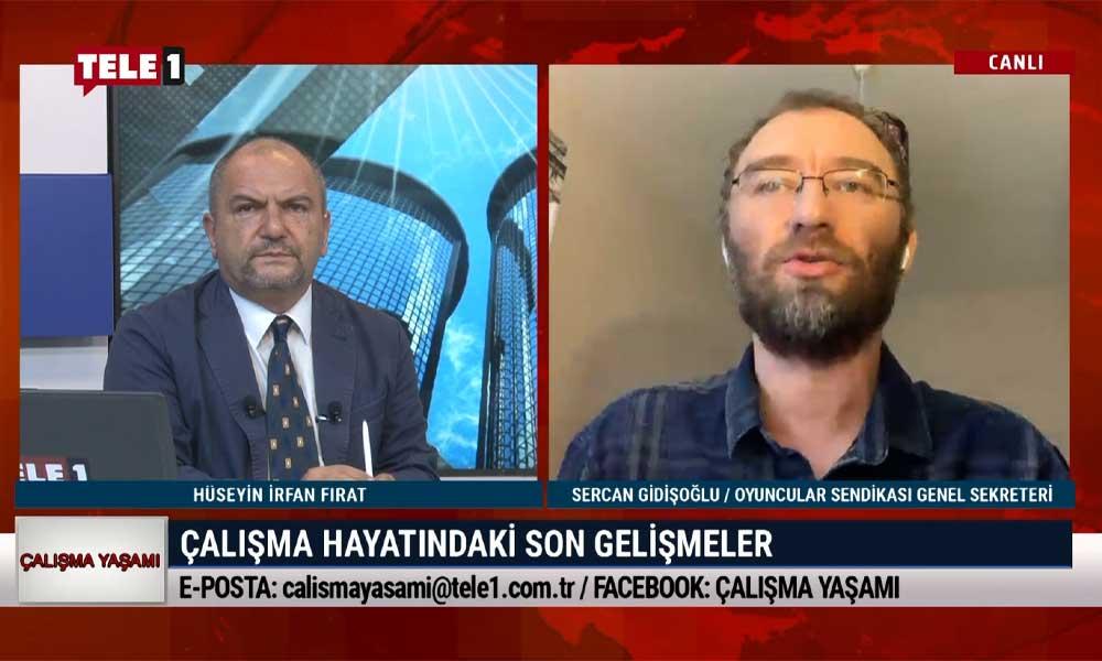 Çalışma Yaşamı'nın bu haftaki konuğu Sercan Gidişoğlu