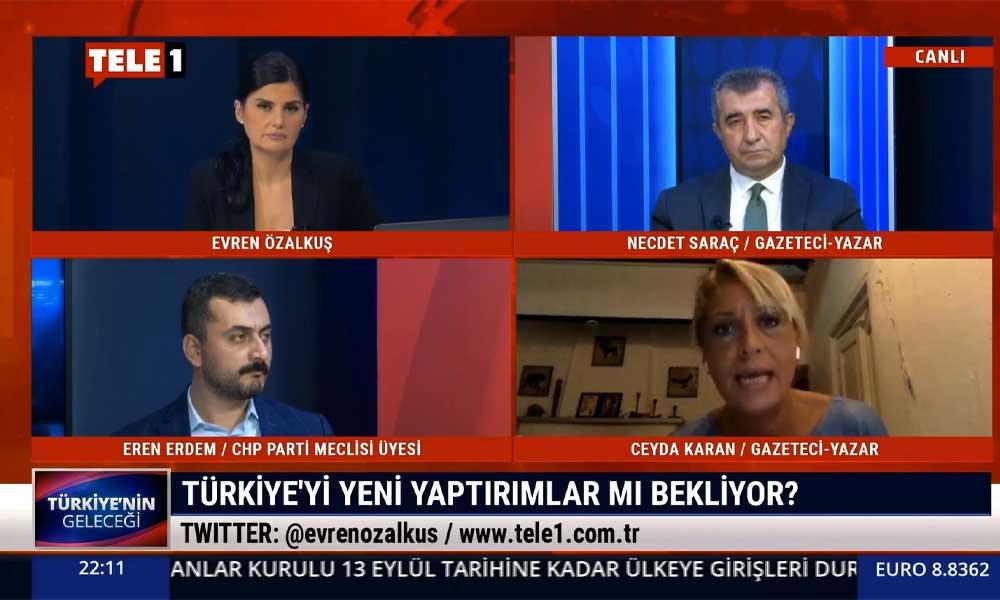 Ceyda Karan: AB, Türkiye'ye çok ağır yaptırımlarda bulunmaz