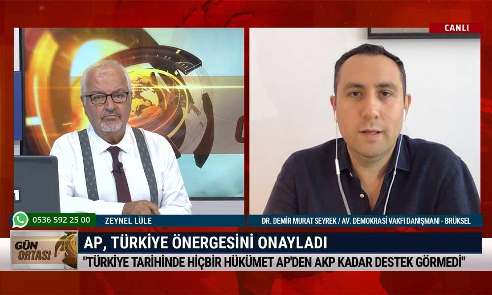 """""""Türkiye, Avrupa Parlamentosu binasına bile girmekte zorlanıyor"""""""