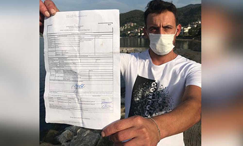 Bir garip koronavirüs cezası: 'Maske takarak nasıl yüzebilirim?'