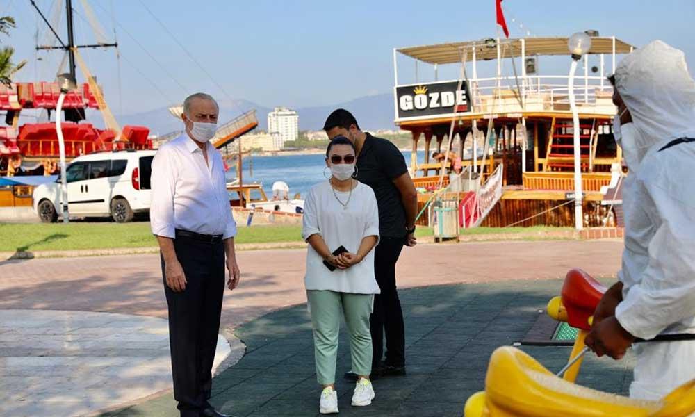 Başkan Atabay Didim'de virüslere karşı savaş başlattı
