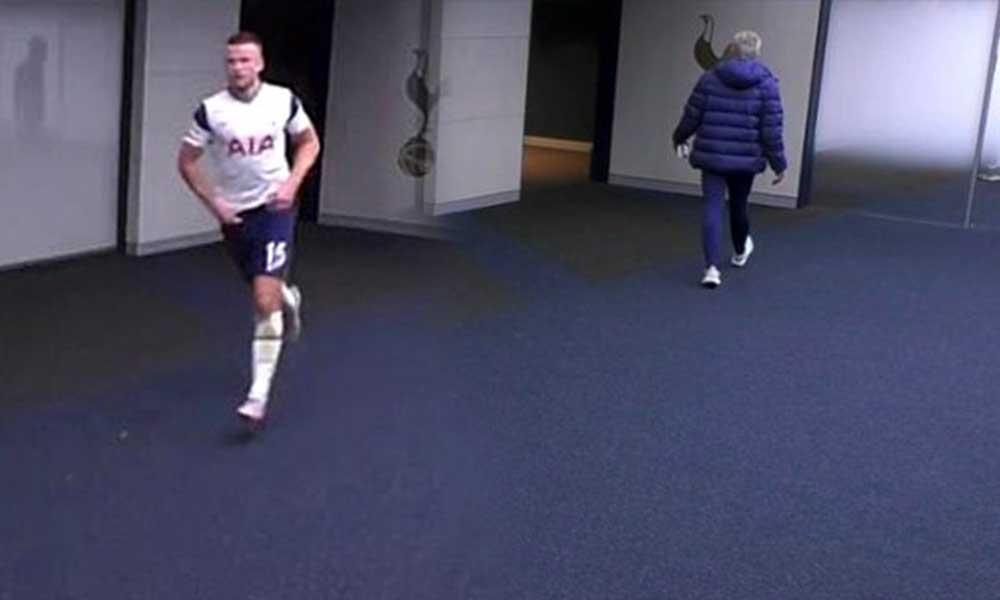 Maçın ortasında tuvaleti gelen Dier'ı Mourinho kovaladı