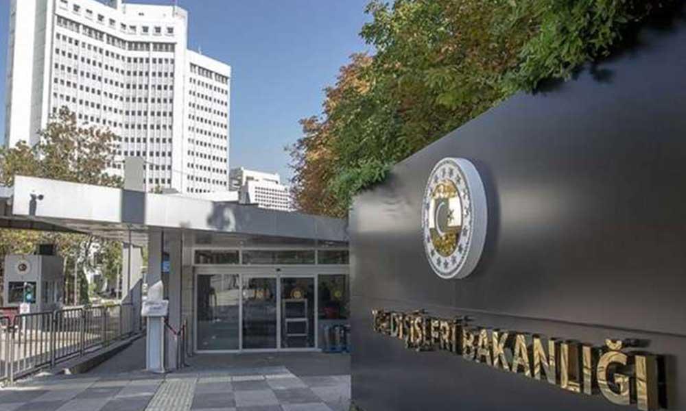 Dışişleri Bakanlığı: AB, Türkiye ile istişare ve iş birliği içinde hareket etmeli