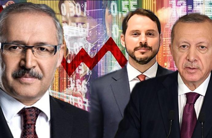 Türkiye yüzde 9,9 küçülürken Abdülkadir Selvi ekonomiyi öve öve bitiremedi!