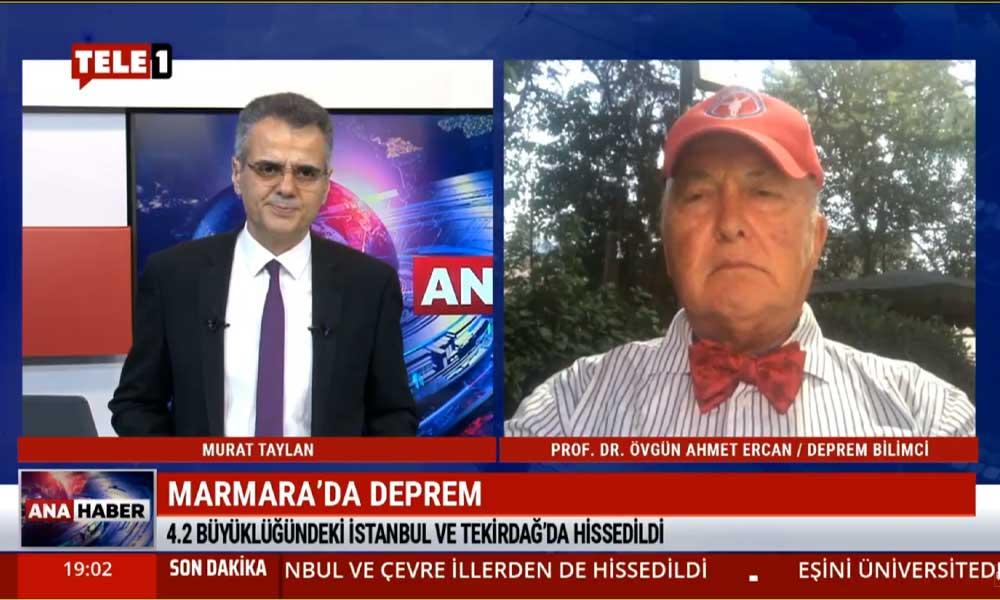 Ünlü Deprem Bilimci Ahmet Ercan: Depremin geçen yılki aynı yerde olması tesadüf değil!