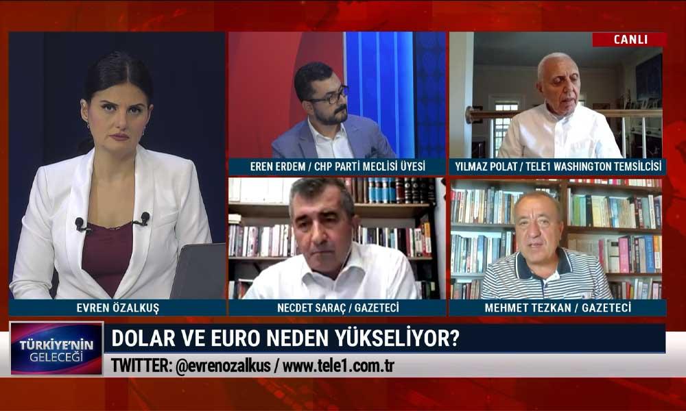 Eren Erdem: AKP'li bazı siyasetçiler ve tanınmış isimlerin dolar mevduatlarında yüzde 500 artış var