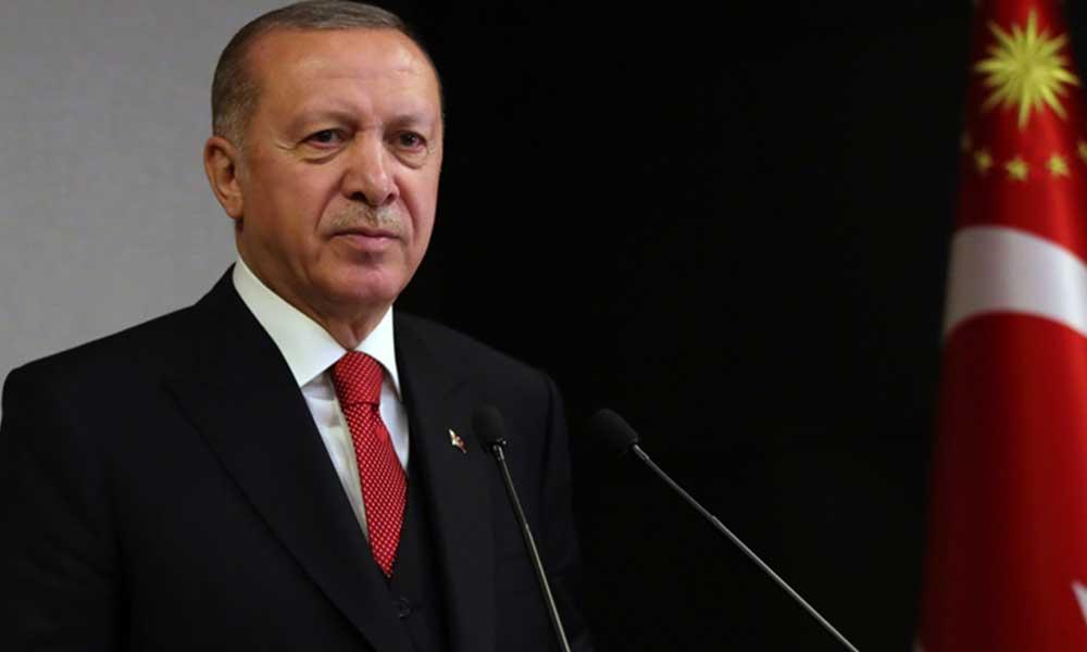 Erdoğan'dan Doğu Akdeniz mesajı: Ya diplomasiyle anlayacaklar ya da sahada yaşayacakları acı tecrübelerle