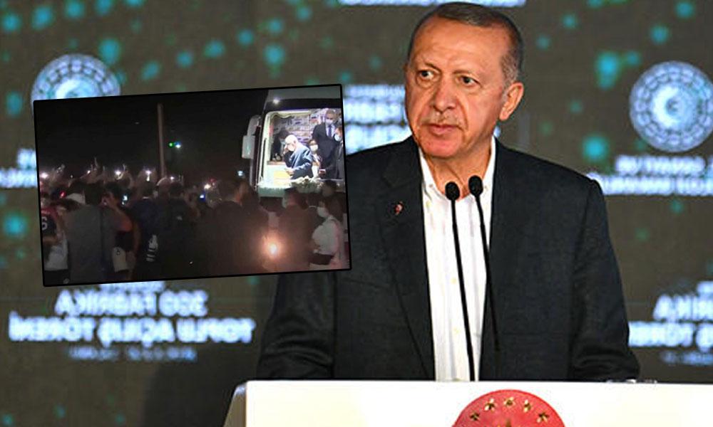 Erdoğan 45 yıllık fabrikayı 'yeni' diye açtı