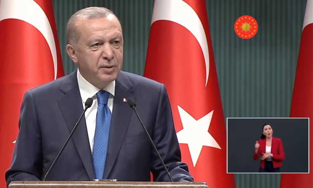 Erdoğan: Ailelerin tercihine göre okullarımızı eğitim öğretime açıyoruz