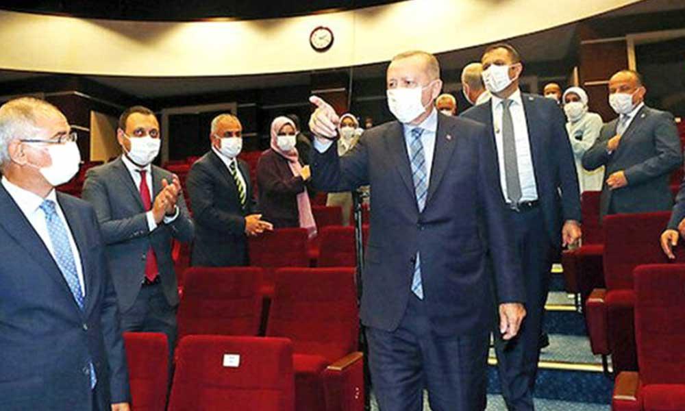Erdoğan'ın programına katılacak AKP'li isim korona oldu!