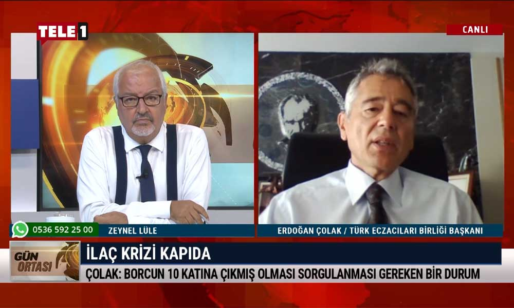 Türk Eczacıları Birliği Başkanı Erdoğan Çolak: Ciddi bir sağlık krizine yol açabilir