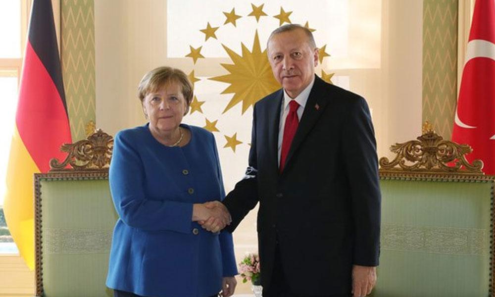 Erdoğan, Merkel ve Michel ile Doğu Akdeniz'i görüştü