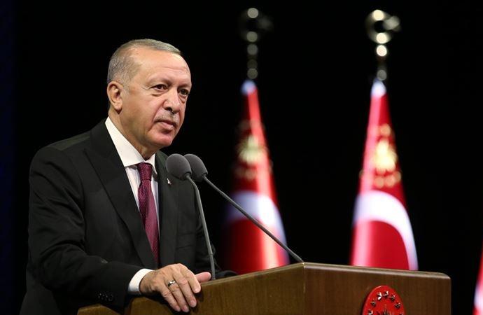 Erdoğan: Doğu Akdeniz, Türkiye'nin asla geri adım atmayacağı bir mesele