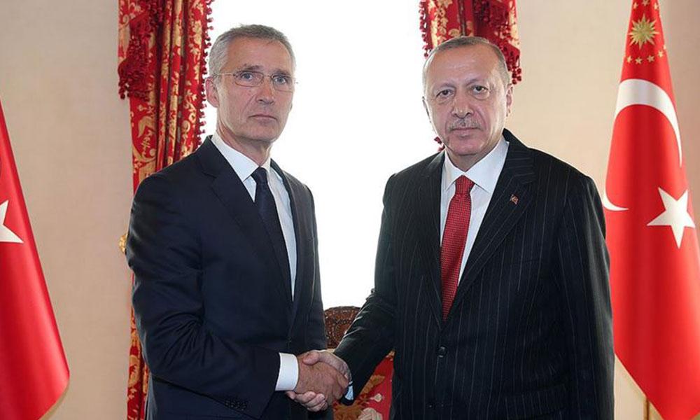 Erdoğan, Stoltenberg ile görüştü: 'NATO diyalog için bir platform oluşturmaktadır'