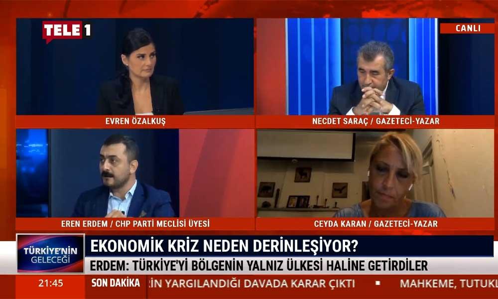 Eren Erdem: Türkiye'de 1 sene içerinde erken seçim olmazsa dolar 10 lirayı görecek