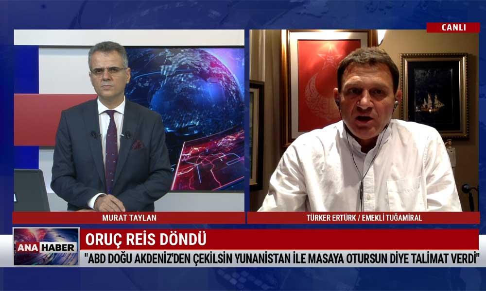 Türker Ertürk: Türkiye taviz vermedi, teslim oldu