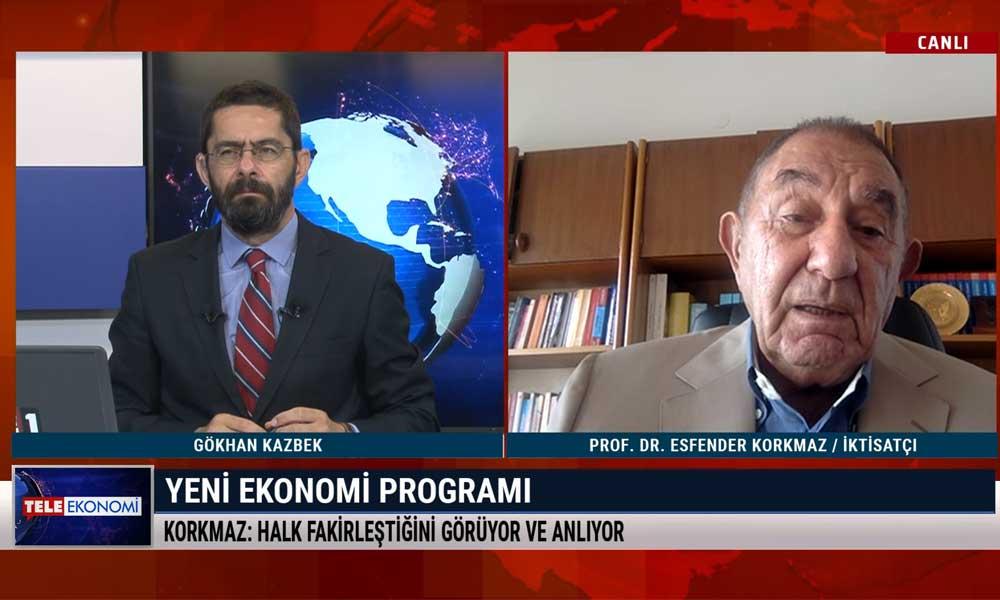 Esfender Korkmaz: Türkiye net dış borç ödediği için yoksullaşma sürecine girdi