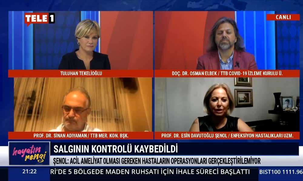 TELE1'de açıkladı: Türkiye, Covid-19 ölümlerinde Avrupa'da ikinciliğe yükseldi