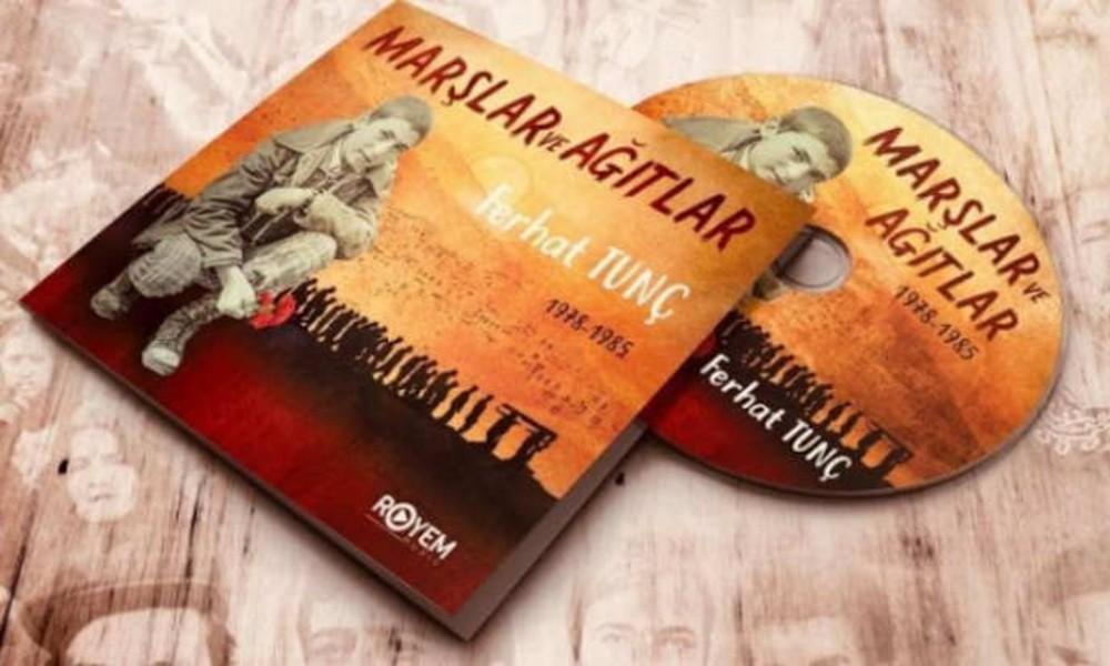 Ferhat Tunç'un bu kez de 'albüm kapağına' dava