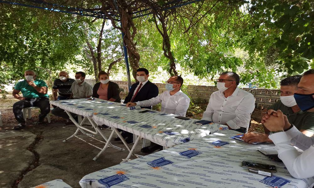İlçe Protokolü Batıköy'de vatandaşlarla bir araya geldi