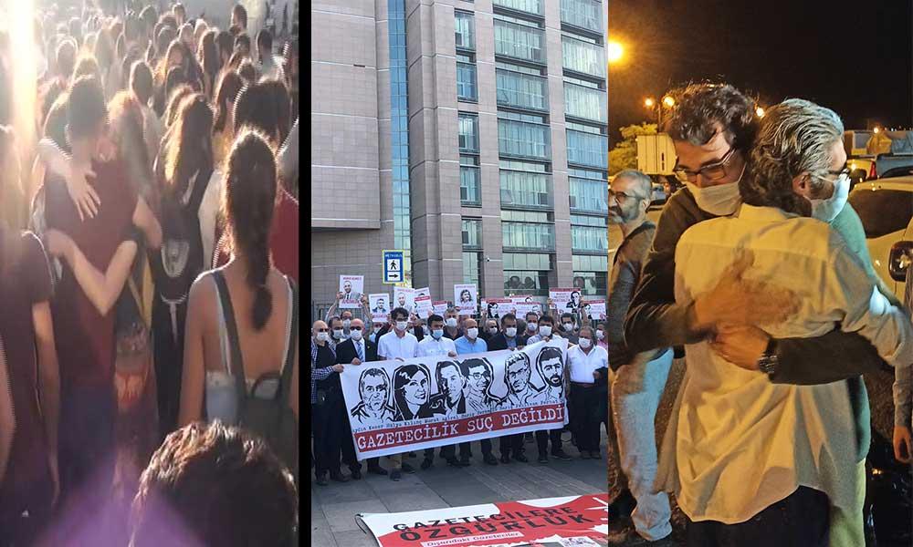 Tutuklu gazetecilerin tahliyesine karar verildi