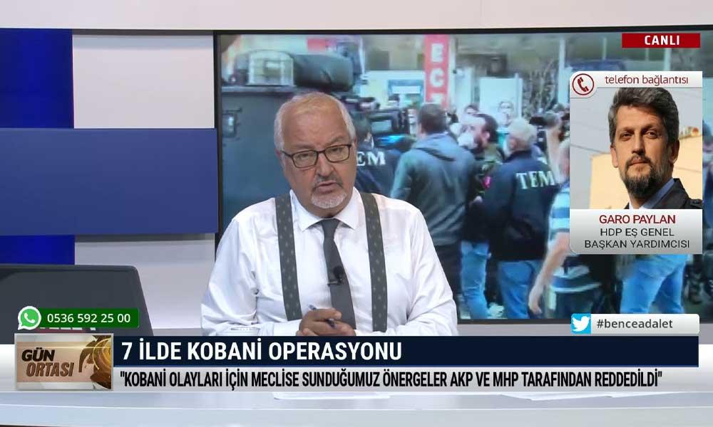 HDP'li Garo Paylan: Algı operasyonlarına karşı dimdik durmalıyız, asla diz çökmeyeceğiz
