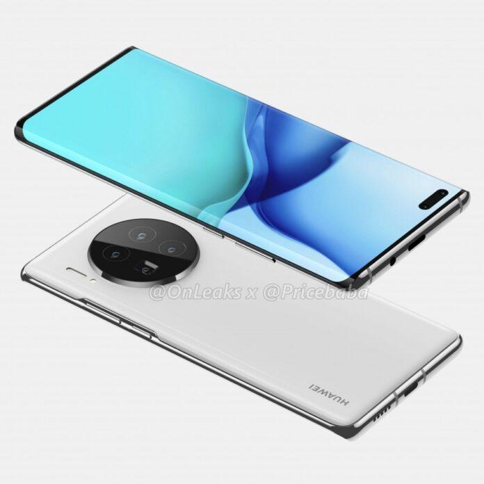 Huawei Mate 40 Pro videoda görüntülendi