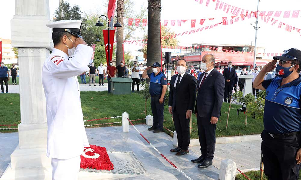 Mudanya'nın 98. gurur günü kutlandı