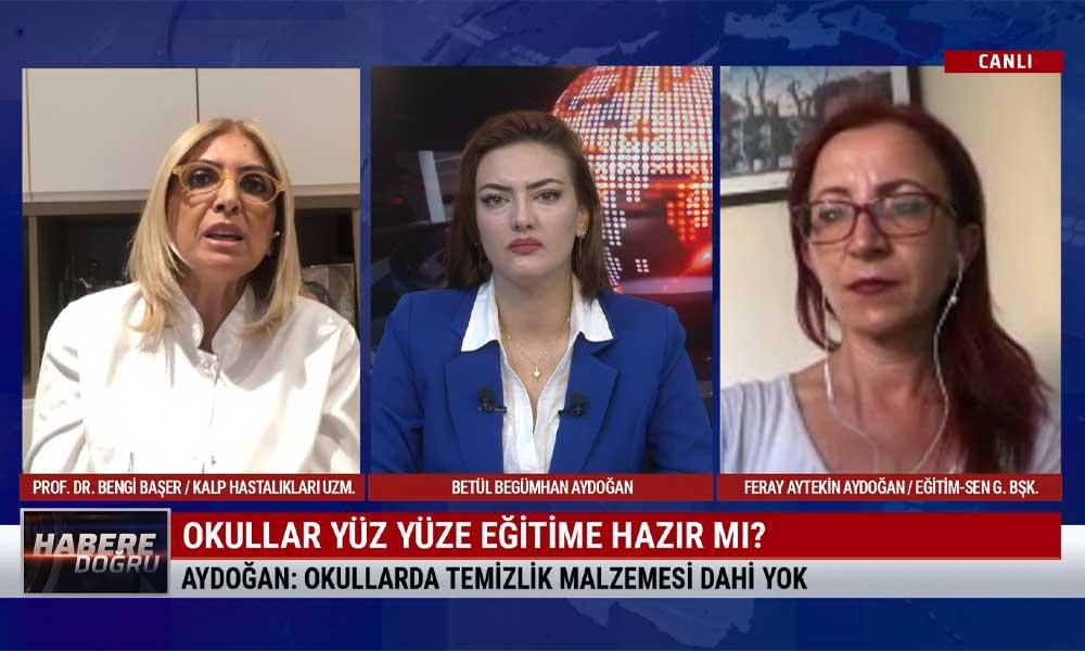 Eğitim-Sen Genel Başkanı Aydoğan: Okullarda çok ciddi bir hazırsızlıkla karşı karşıyayız