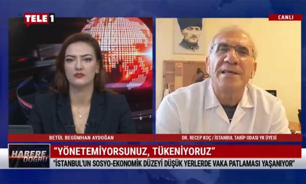 """""""İstanbul'a giriş-çıkışlar durdurulmalı, toplantılar yasaklanmalı"""""""