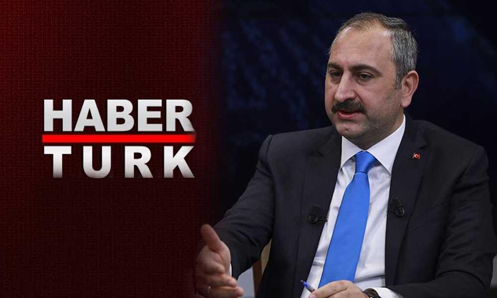 Müge Anlı'yı eleştiren Adalet Bakanı'na cevap Habertürk'ten geldi