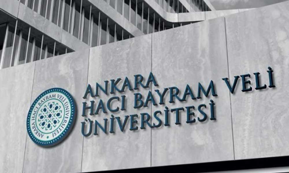 Adrese teslim ilanlarda sıra Hacı Bayram Veli Üniversitesi'ne geldi