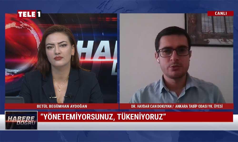 """""""Ankara'da günlük 4 binin üzerinde vaka var"""""""