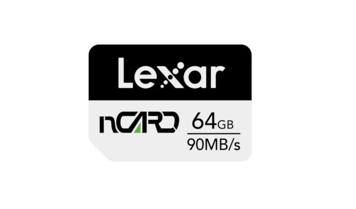 Lexar NCard :  Huawei telefonlar için geliştirildi