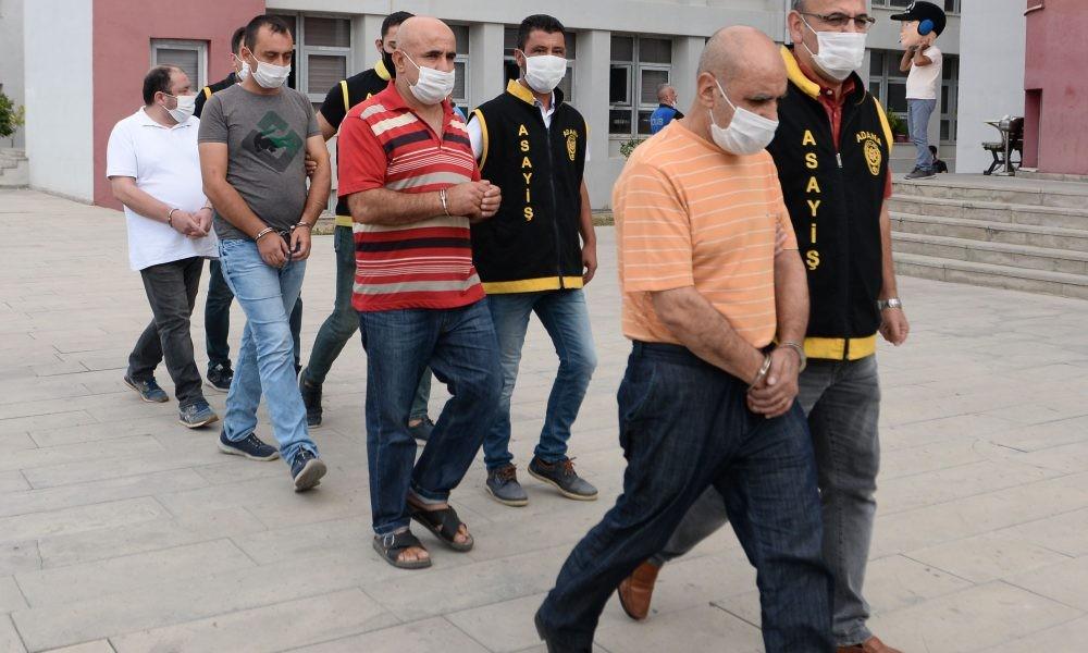 Adana'da 4 firari hükümlü yakalandı