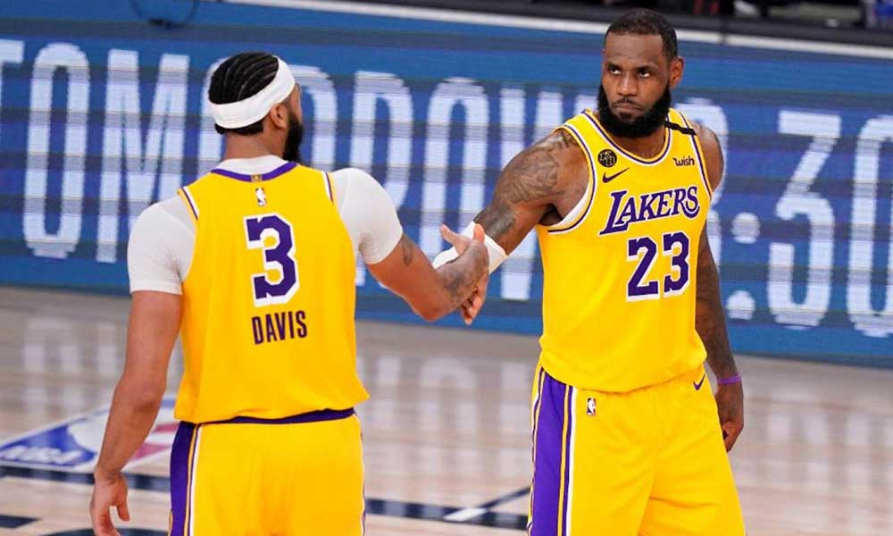LeBron James ile Anthony Davis sırtladı! Lakers seriyi 3 – 1'e getirdi