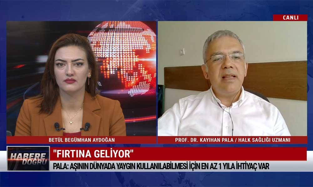 """""""Türkiye'de ne 2020'de ne 2021'in ilk 6 ayında yaygın bir aşılama ihtimali düşük"""""""