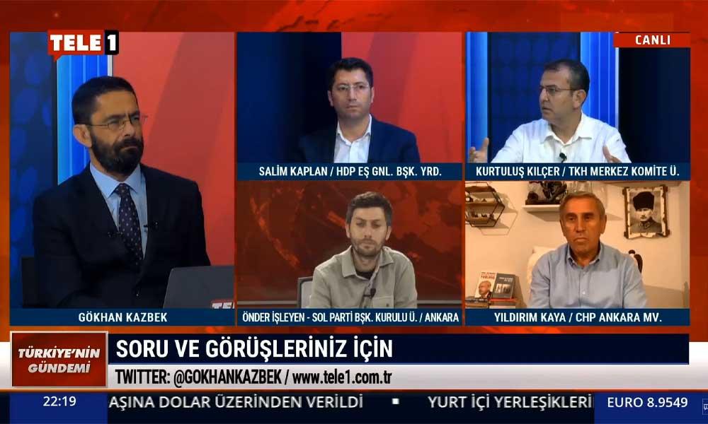 TKH MK üyesi Kurtuluş Kılçer: MHP destekli AKP iktidarı bugün Türkiye'de çoğunluk değil, AKP'nin paniği bu