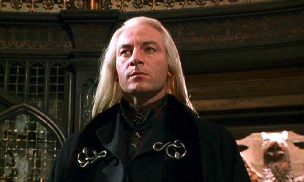 Harry Potter'ın Lucius Malfoy'undan maske çıkışı: Takmayı reddedenler hapse atılmalı
