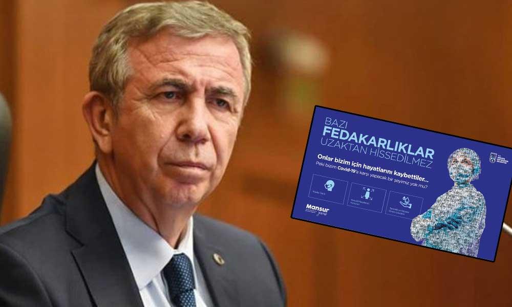 """Mansur Yavaş görüntülere isyan etti! """"Yakında tüm Ankara görecek"""""""