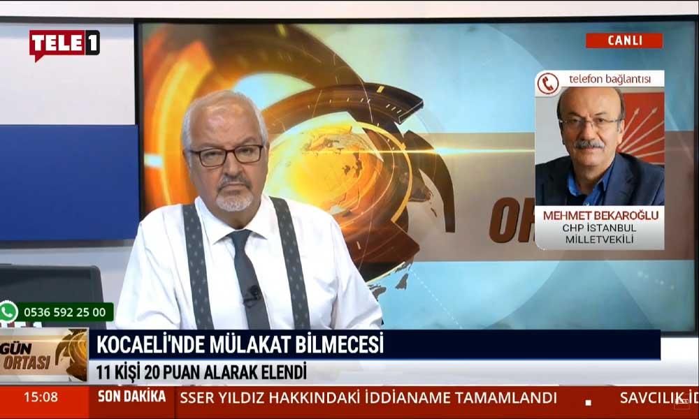 CHP'li Mehmet Bekaroğlu: İnsanların emeğini çalmaktan daha büyük hırsızlık olabilir mi?
