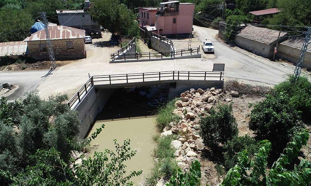 Kozan'da yedi yeni araç köprüsünün ve menfezlerin yapım işlemleri tamamlandı